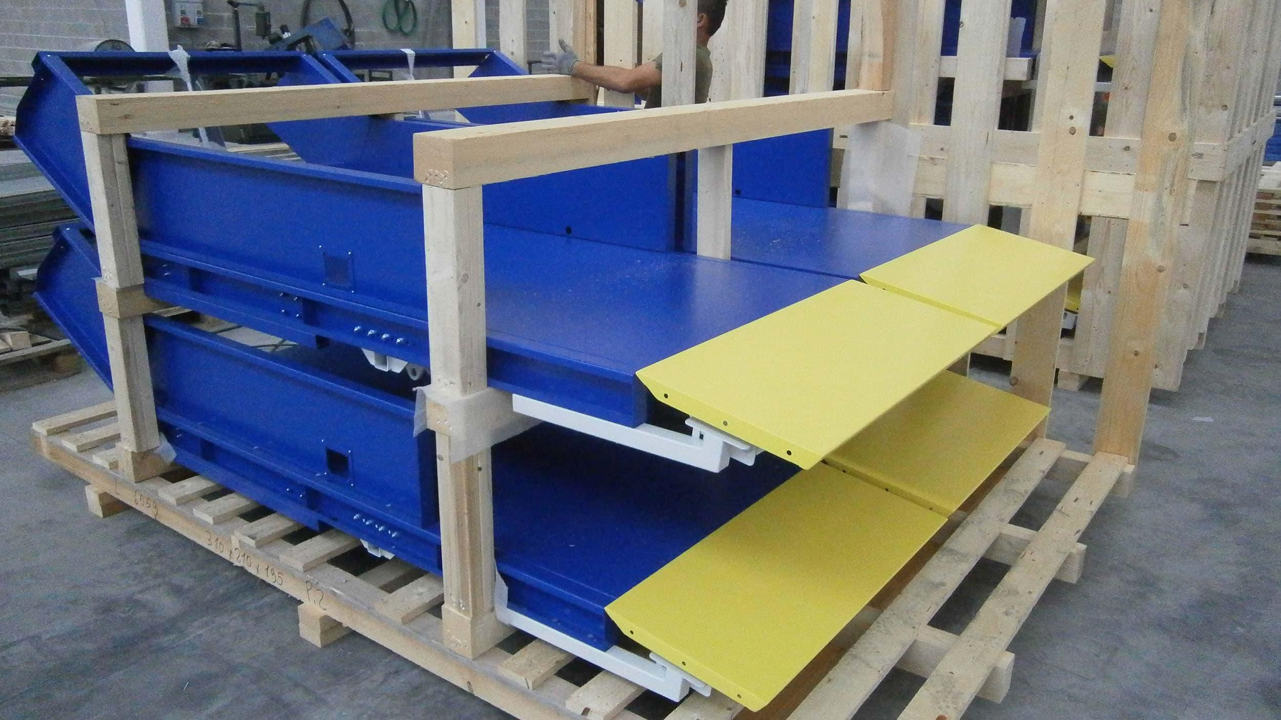 Carpenteria Manessi Brescia - Industrial assembly